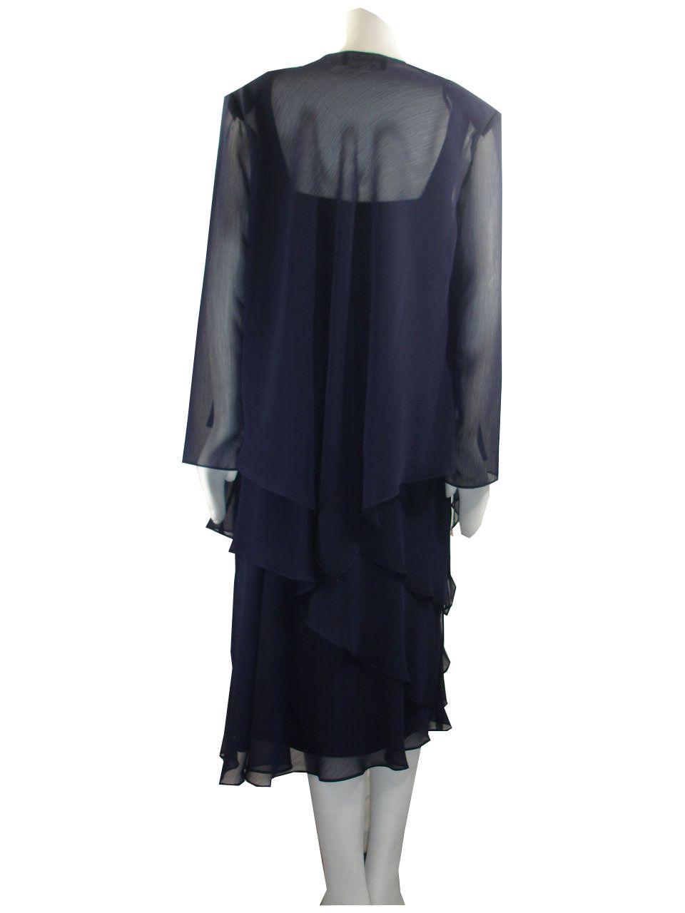 Navy 42-33 Ed Garments MenS 2560 Smooth Drape Casual Pants