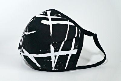 Berek Scribble Print Mask L96093C