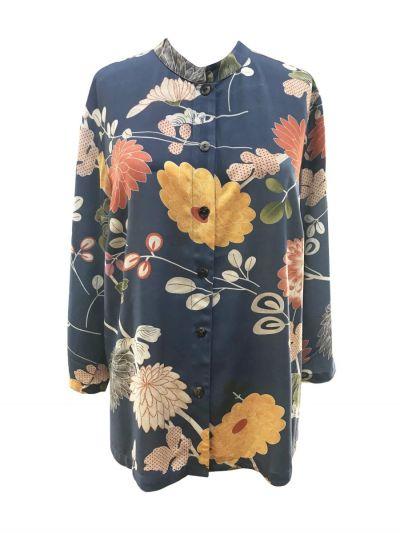 Citron Plus Size Freshly Floral Shirt 1213FPF-C