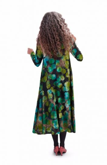 Alembika Emerald Dot Pullover Dress AD612E