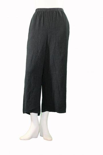 Khangura Plus Size Graphite/Slate Pull On Pant 69933W