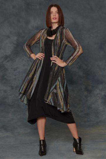 Kozan Plus Size Bark Mesh Molly Cardigan SH-210805