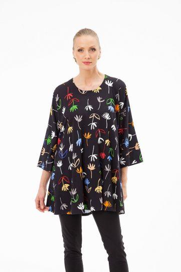 Aino Plus Size Pelusa Multi Pullover Tunic Emma
