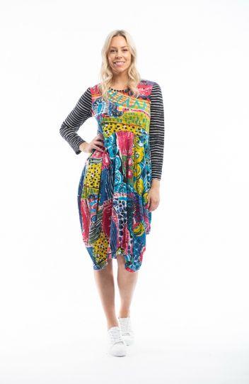 Orientique Plus Size Calypso Cove Dress 61461