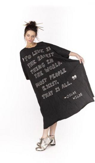 Magnolia Pearl Midnight Poplin Artist Dress 643