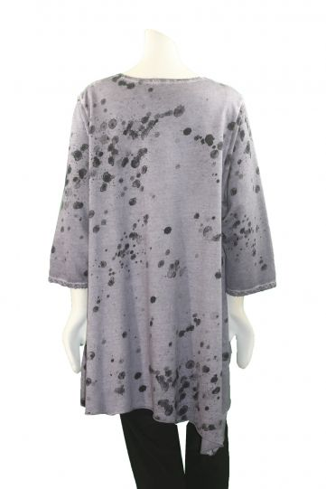 Grizas Light Lilac Splash Print Tunic 51814TO46P24
