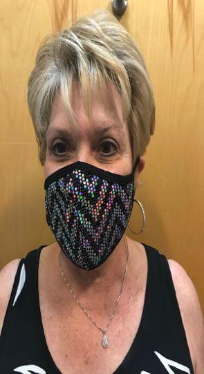 Bling Bizzi Black Bling Mask