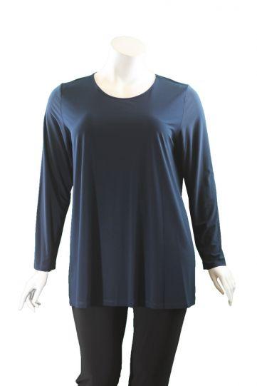 Comfy/Sum Kim Plus Size Denim L/S Tunic SK107