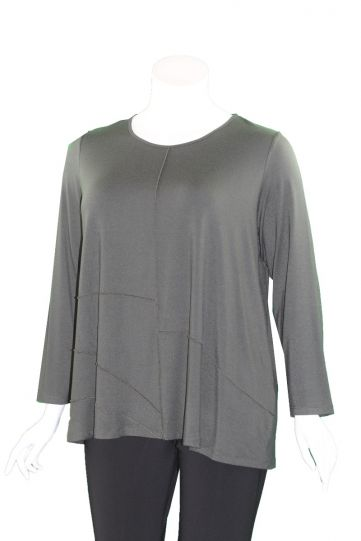 Comfy Plus Size Olive Gina Top M1003