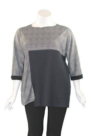 Noblu Black/Silver Myra Tunic 41931