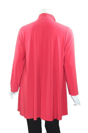 Sun Kim Plus Size PB Red Taylor Jacket WSK533