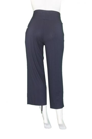 Q' Neel Plus Size Navy Pull One Pant 81898-2428-691