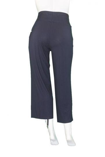 Q' Neel Plus Size Navy Pull One Pant 81898-2428-691