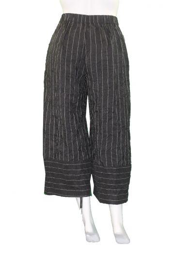 Chalet Black Crinkle Maisel Pant XT98252