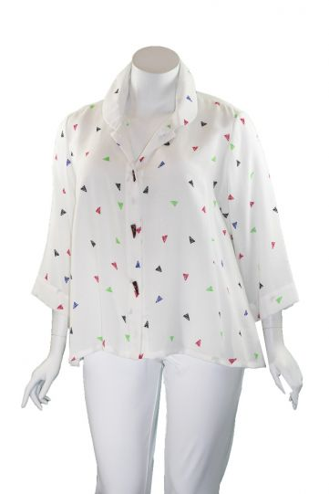 Fridaze Plus Size Multi Horn Button Short Jacket AA85-CL8833