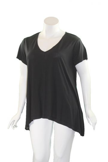 Mat Fashion Black Grommet Side Tunic 7301.1082