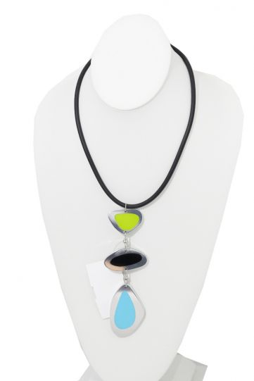 Kristin Desantis Contemporary Mod Loop Necklace Reversible