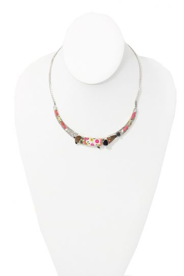 Taratata Dog Floral Necklace E20-01103-103