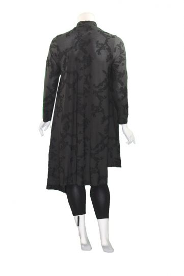 Alembika Black High Low Long Tunic AT217B