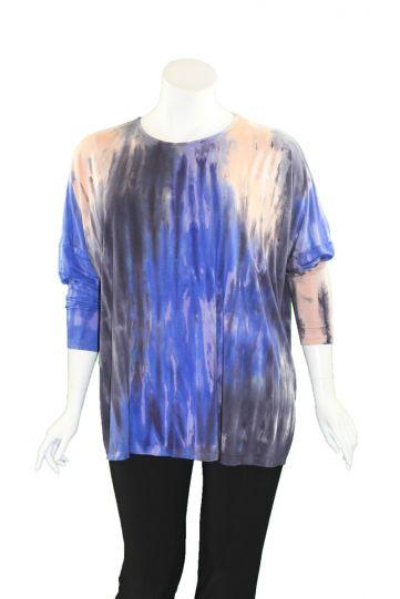 Annie Turbin Designs 1048 Tie Dye Oversized Top PSC
