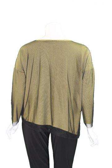 Kozan Plus Size Lentil June Top TS-4115