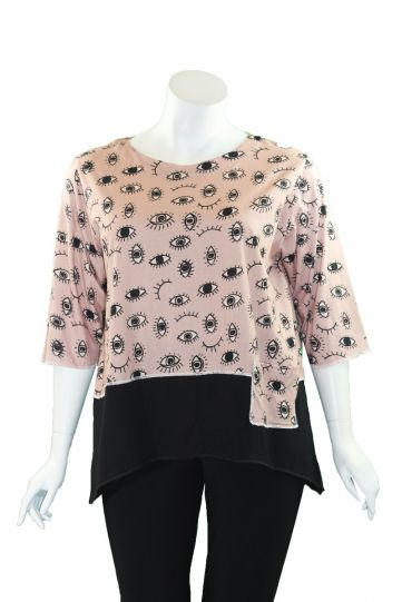 Cupcake Eyes Pullover Style Top COL5-5001