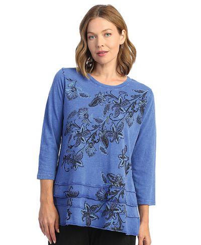 Jess & Jane Plus Size Cblt Lilybell Cotton Tunic M66-1634X