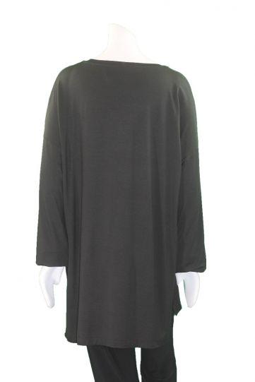 Ma Bella 2 Black/Multi Painted Pullover Tee MF01