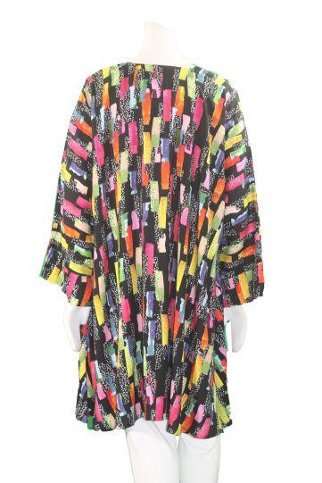 Aino Multi Print Bridie Long Tunic Bianca