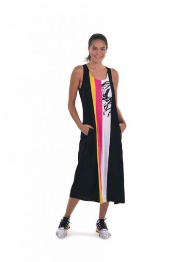 Tekbika Multi Color Block Dress TD104M