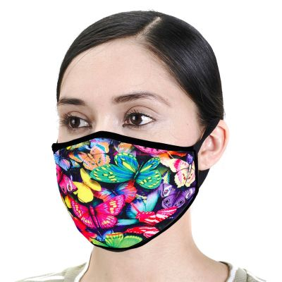 Urban X Colorful Butterflies Face Mask
