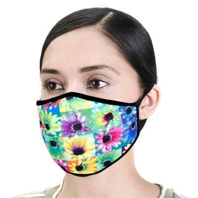 Urbanx X Neon Sunflower Face Mask
