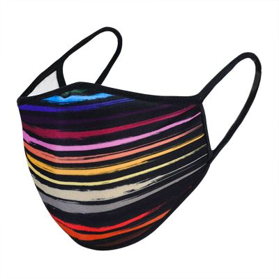 Urban X Rainbow Stripes Face Mask