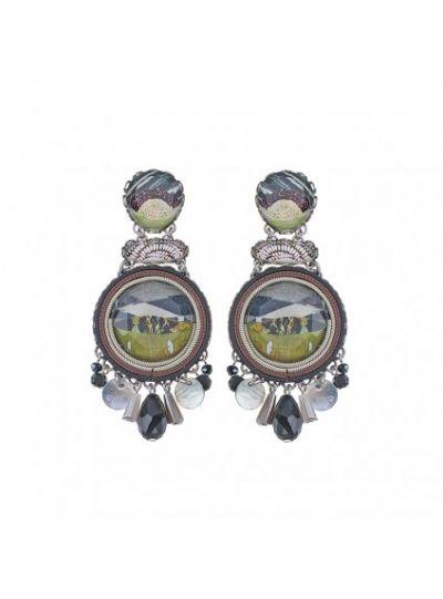 Ayalabar 0110829 Midnight Kees Earrings