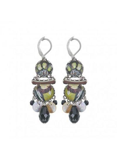 Ayalabar 0110833 Midnight Loraine Earrings