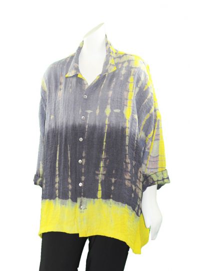 Gerties Plus Size Czanne Intentional Shirt 1120-2066