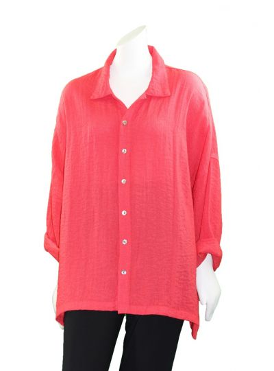 Gerties Plus Size Tea Berry Intentional Shirt 1100-2057
