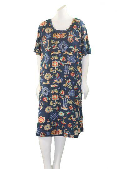 La Cera Plus Size Short Knit Dress 2522XL-3457