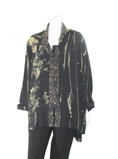 Lyng Designs Plus Size Brass Boxy Jacket 5021