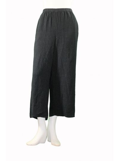 Khangura Plus Size Graphite/Slate Pull On Pant 69933W