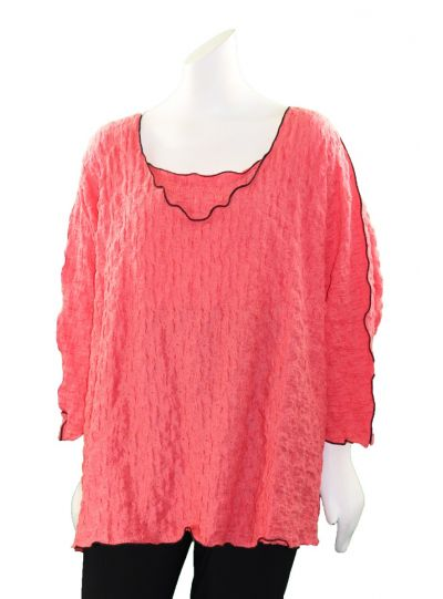 Noblu Sunset Puckered Leeza Top 71905