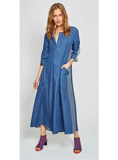Alembika Denim Pull On Dress D815D