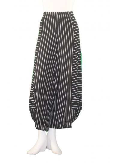 Alembika Black/White Pinstriped Pant RP130P