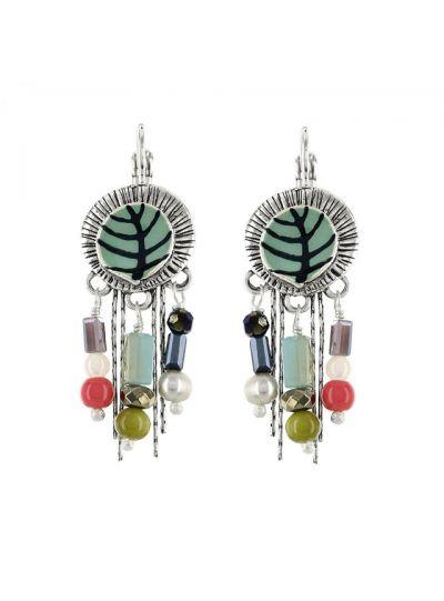 Taratata Multi Beaded Earrings E18-04741-10M