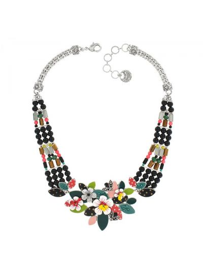 Taratata Multi Flower Necklace E18-10124-10M