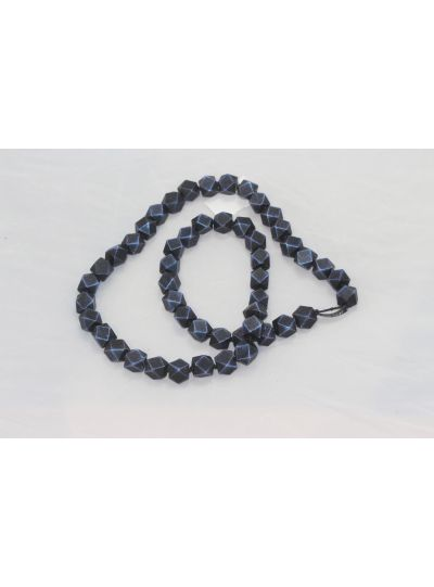Jianhui Blue Chunky Necklace