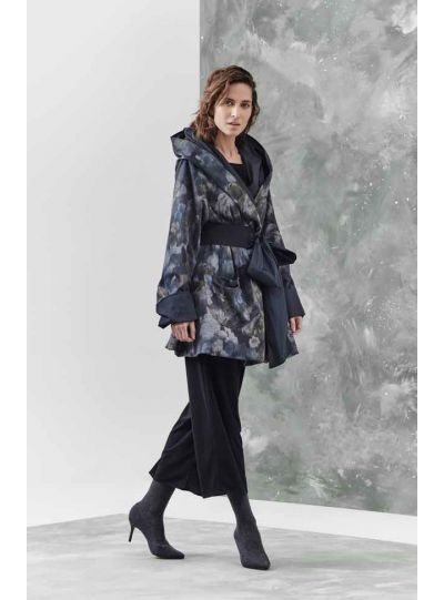 Igor Black/Floral Double Face Jacket W18-02
