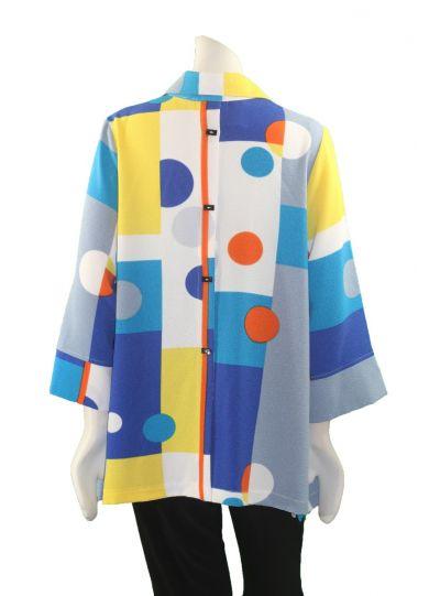 Moonlight Multi Color Button Front Shirt 2559-BPR