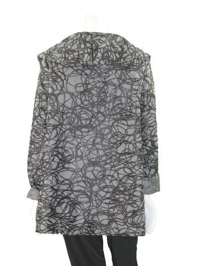 Niche Grey/Black Jewel Jacket 55794