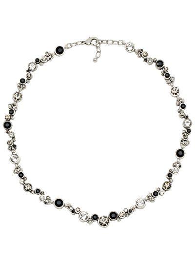 Patricia Locke Black/Crystal Ovation Necklace NK0543S